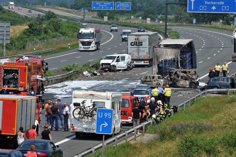 Unfall A9 Heute Aktuell