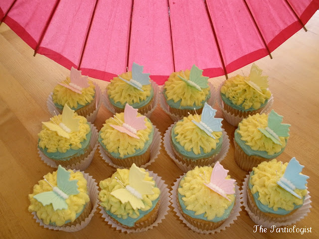 Butterfly Cupcakes  The Partiologist