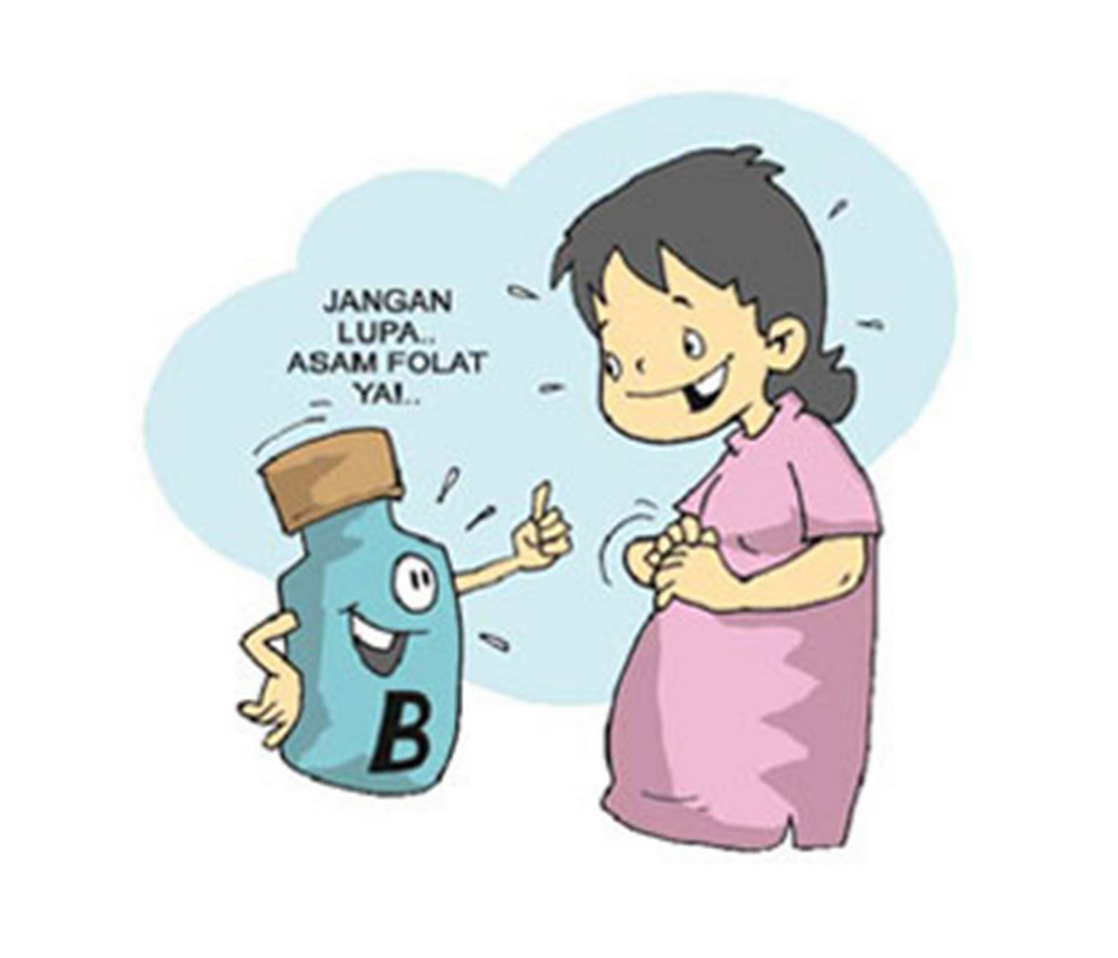 80  Gambar Kartun Lucu Ibu Hamil Paling Bagus