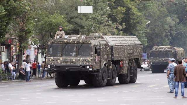 Armenia aumenta  presupuesto militar al 1.5% del PIB