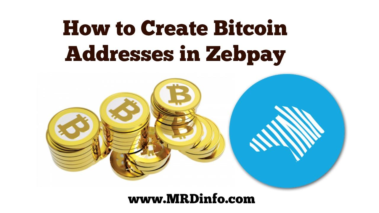 Zebpay par bitcoin address kaise create kare bitcong ccuart Images