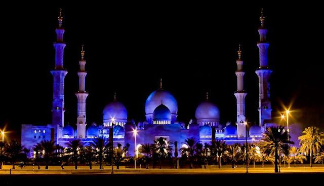Masjid Besar Luas 5 Kali Lapangan Bola Kota
