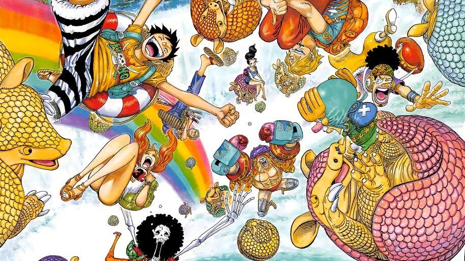 One Piece, Straw Hat Pirates, 4K, #6.142