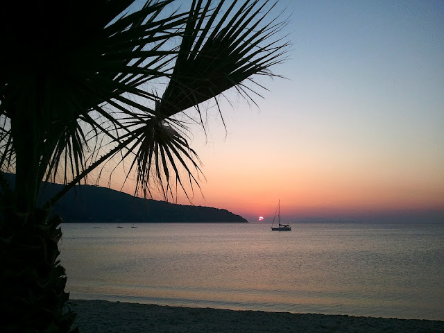 isola d'elba tramonto italia