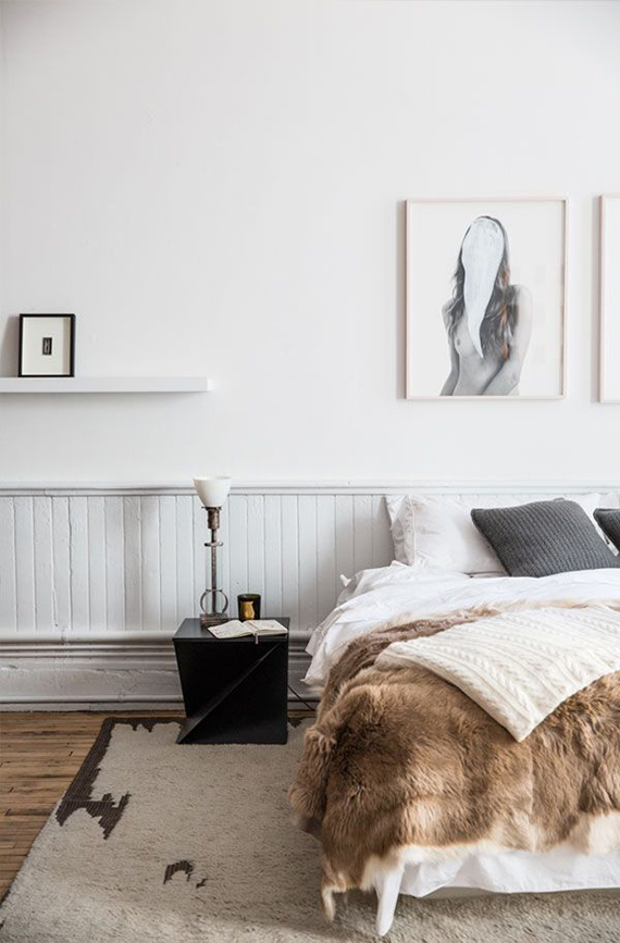 Sophisticated cozy bedroom | The Line. Photo by Aubrie Pick for Apartment 34