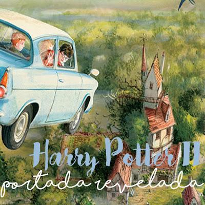 Portada revelada del segundo libro ilustrado de Harry Potter