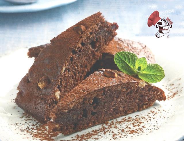 Bizcocho delicioso de Chocolate y avellanas