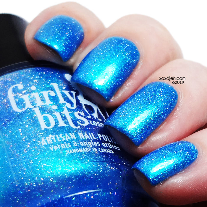 xoxoJen's swatch of Girly Bits Cyan-tifically Proven