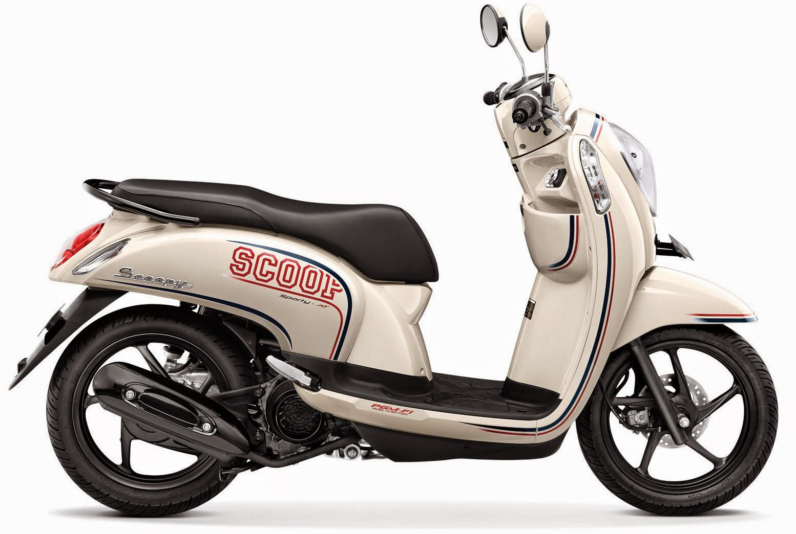 Honda Scoopy FI for rent in UBUD