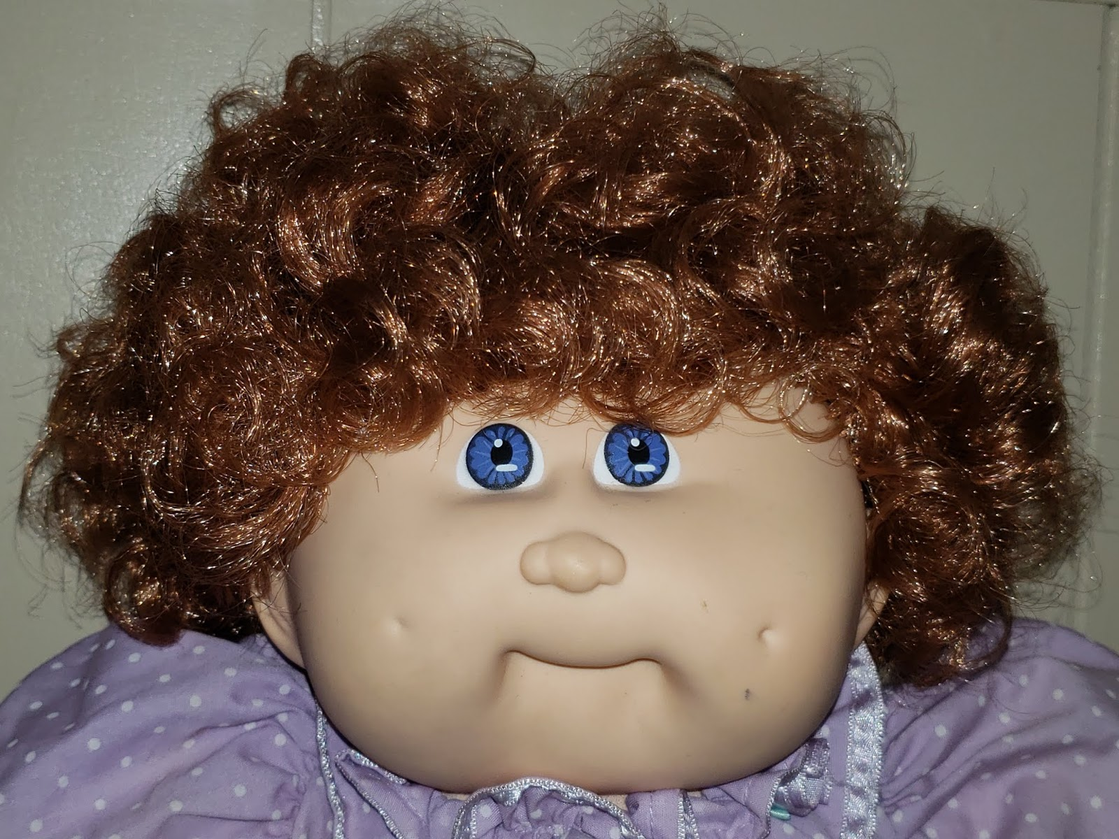 Confessions of a Dolly Lover: Under the cabbage leaf: on Cabbage Patch Kids