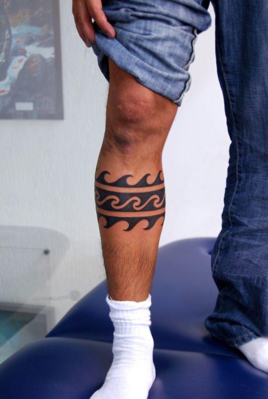 Tatuagem Masculina na perna