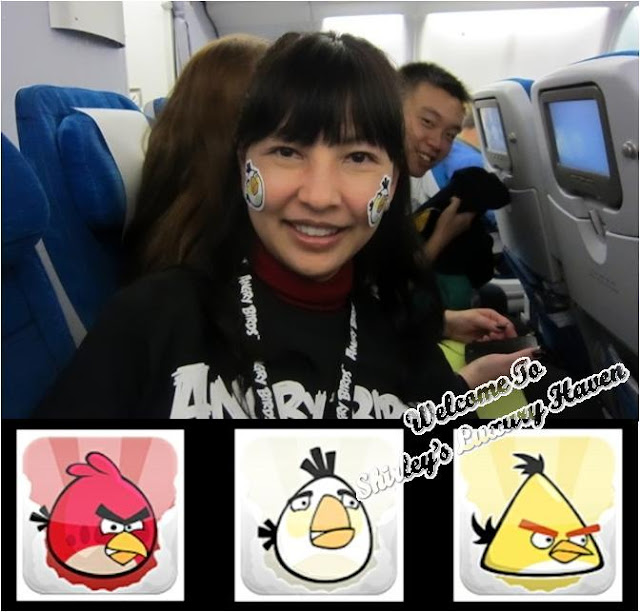 shirley tay in finnair angry birds asian challenge