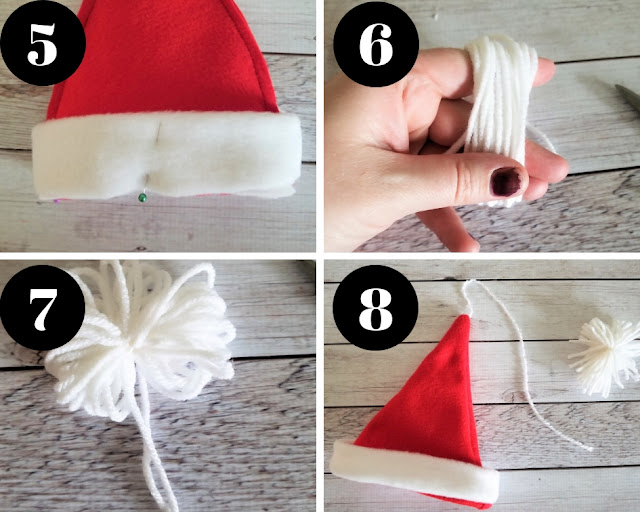 how to make santa claus with bottle