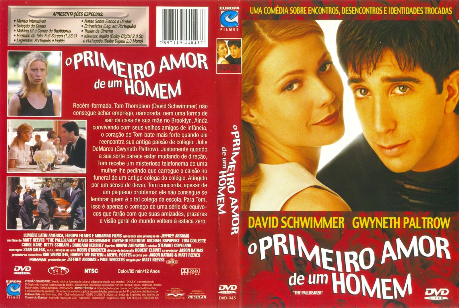 Um Homem Chamado Amor: Somente Capas De DVD: O Primeiro Amor De Um