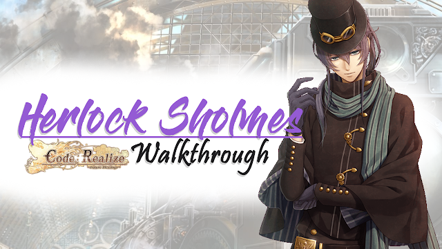 Herlock Sholmes Walkthrough Guide Code Realize Future Blessings
