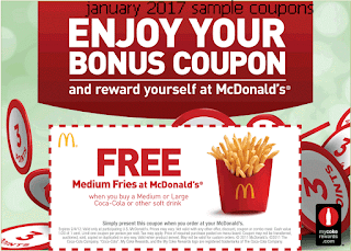 Mcdonalds Coupons