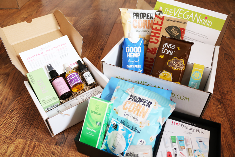 September 2016 Subscription Boxes: You Beauty, Love Lula & The Vegan Kind