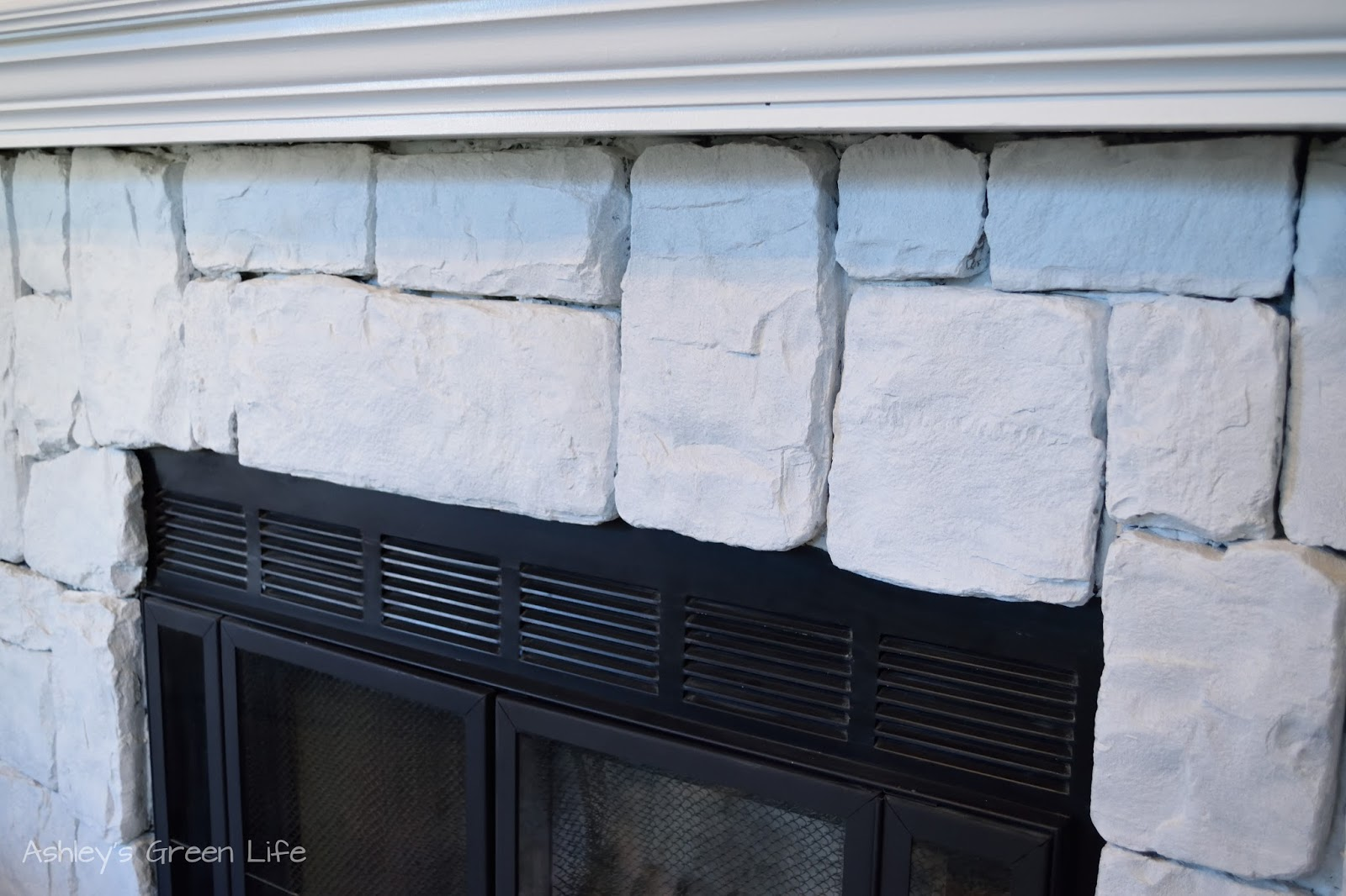 ashley u0027s green life how to whitewash fireplace stone