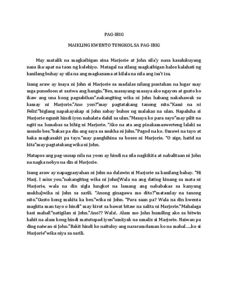 maikling kwento tungkol sa pamilya - philippin news ...