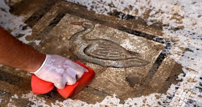 Μωσαϊκό 1.800 ετών με τη θυσία της Ιφιγένειας βρέθηκε στην Πέργη
