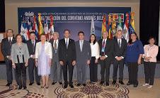Antonio Peña Mirabal encabeza XXVII Reunión de Ministros de Educación del Convenio Andrés Bello; conocen estrategias de integración regional