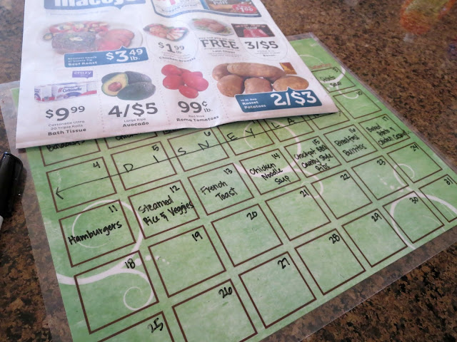Meal Planning: Where Do I Start?--tips for starting your own weekly meal plan
