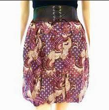 Batik Online Shop Blogspot Model Rok Batik Modern