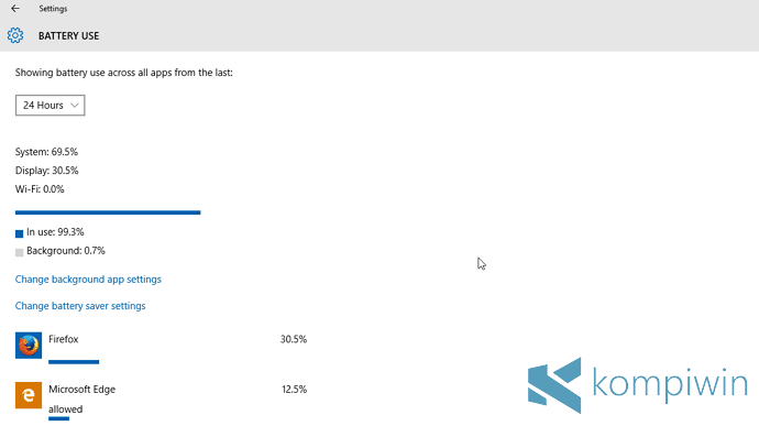 4 Tips Menghemat Baterai Laptop di Windows 10 dengan Fitur Battery Saver 8