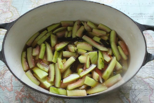 Water melon pickles