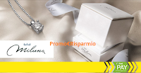 Logo Concorso ''Un diamante per amico'' e vinci girocollo Miluna e non solo
