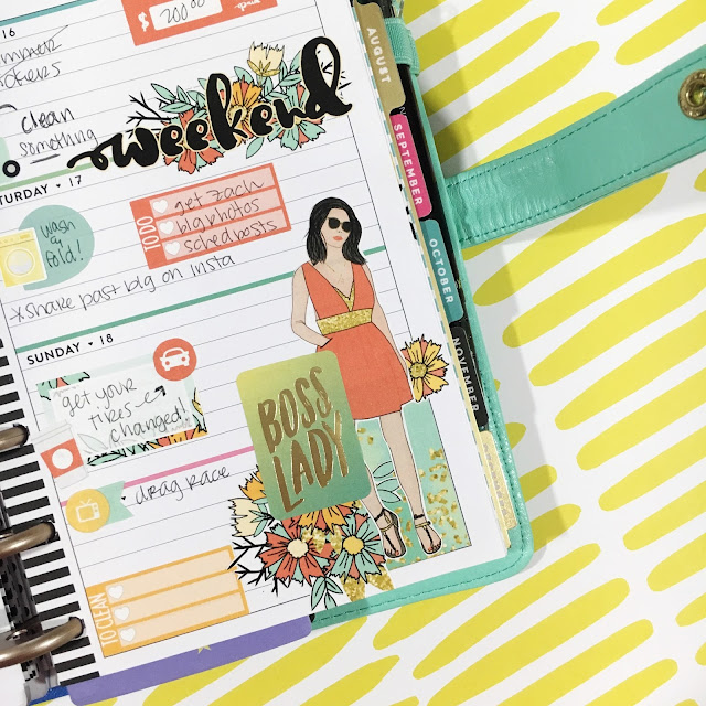 Creative Planning in a Mini Happy Planner