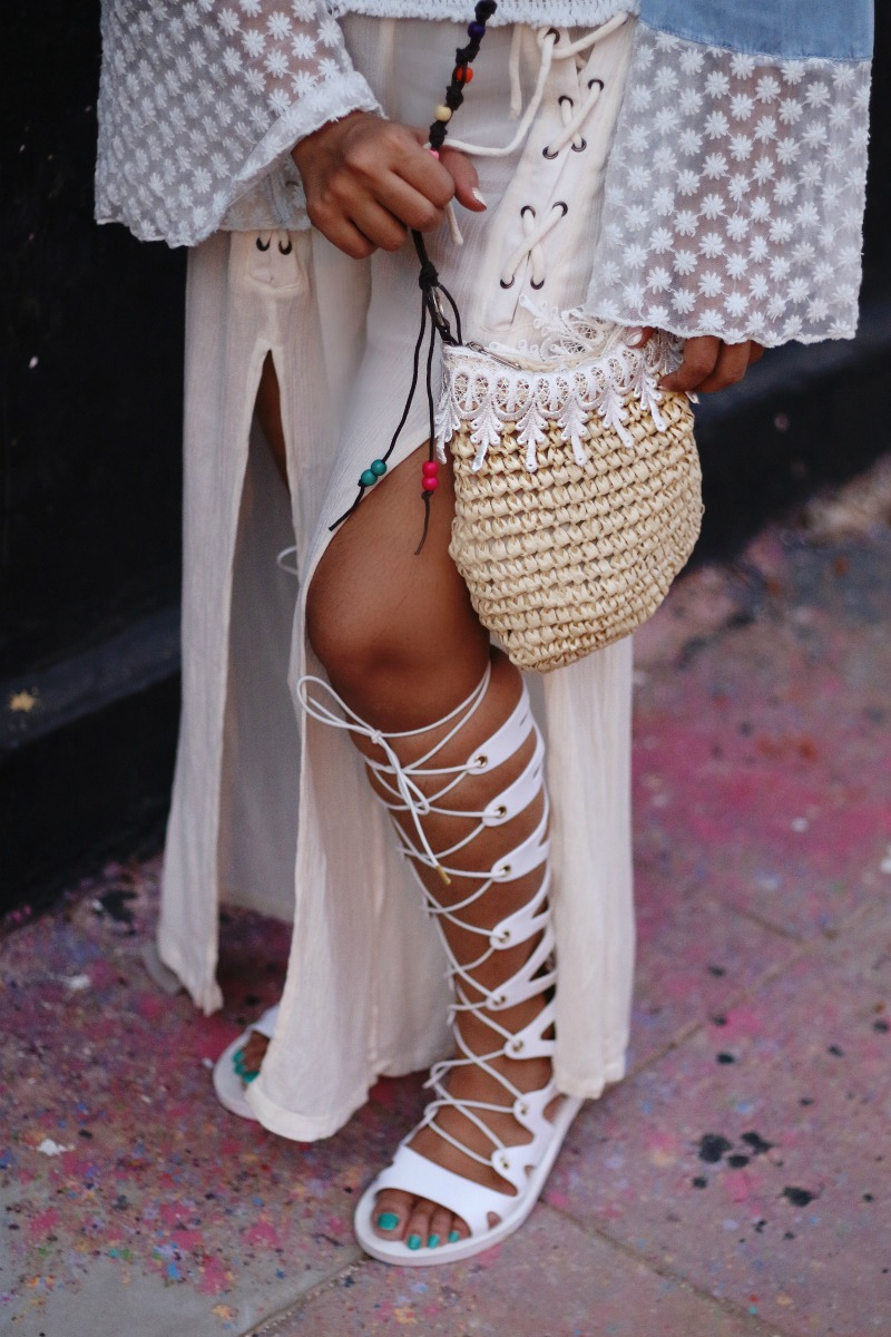 Boho Chic – Bohemian Style For Summer 2017 , gladiators, beach look