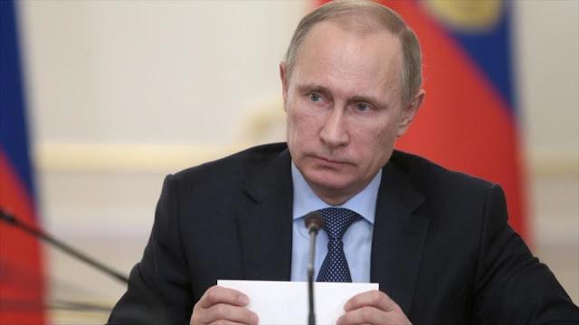 Putin expresa sus condolencias por atentado terrorista en Irán