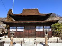 甲府東光寺仏殿
