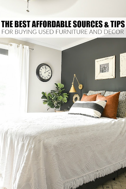 The best affordable sources and tips for buying used furniture and decor