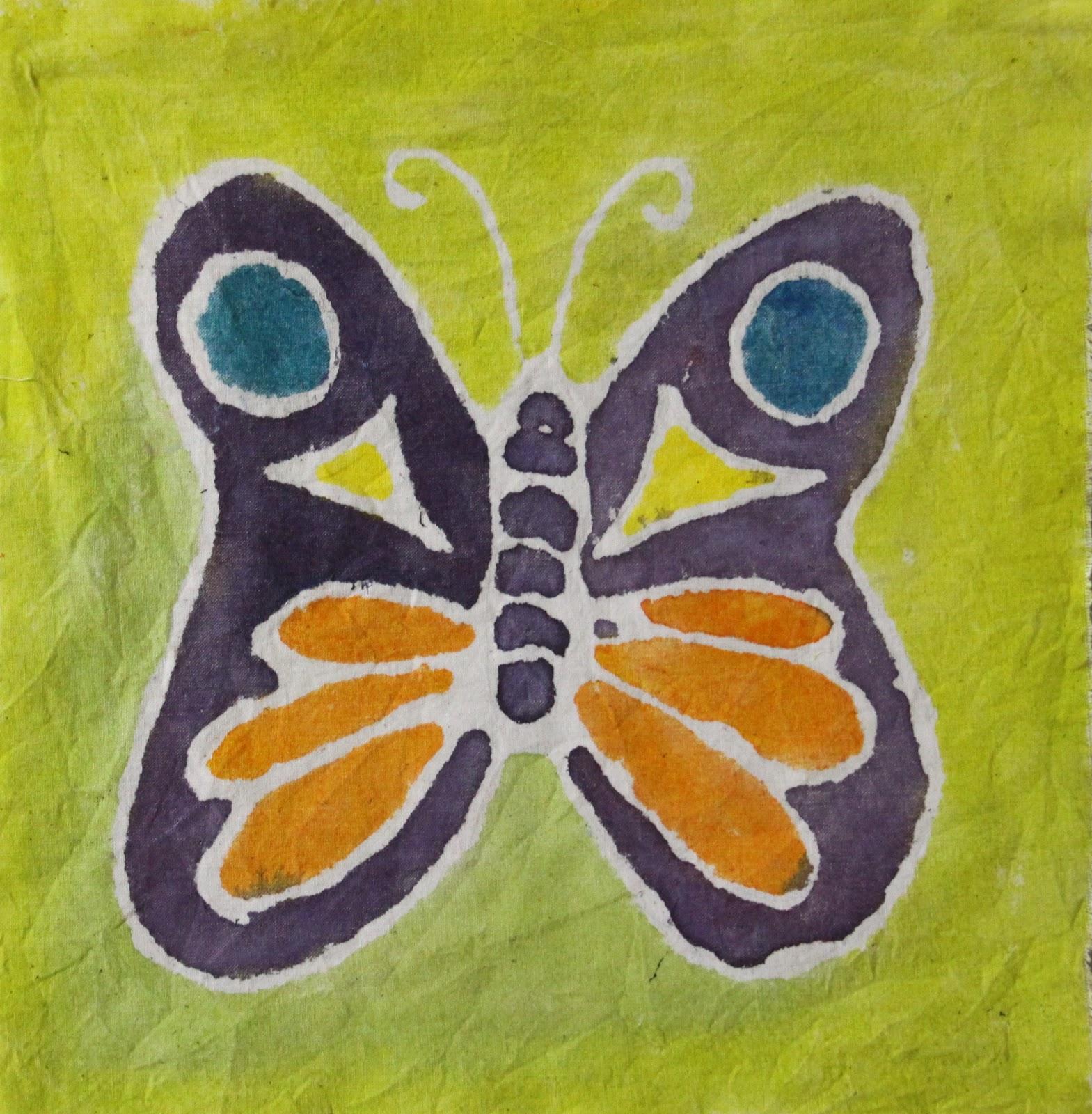 Arty Crafty Studio: Batik Painting For Kids
