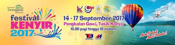 Festival Kenyir 2017 14 Hingga 17 September Di Pengkalan Gawi, Tasik Kenyir Terengganu