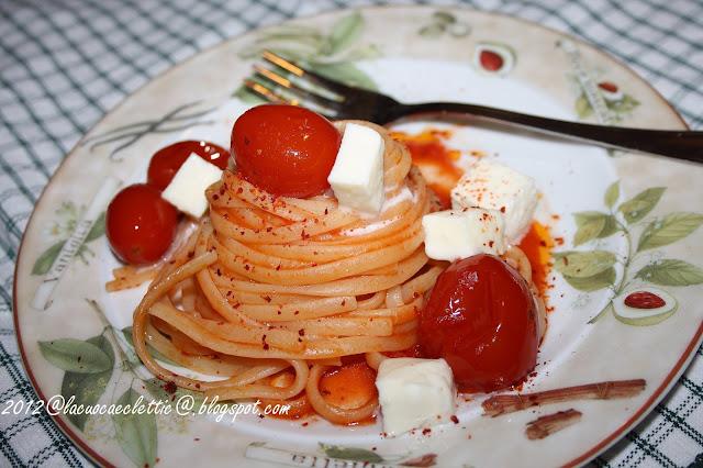 Linguine al filetto di pomodoro...una serata particolare!