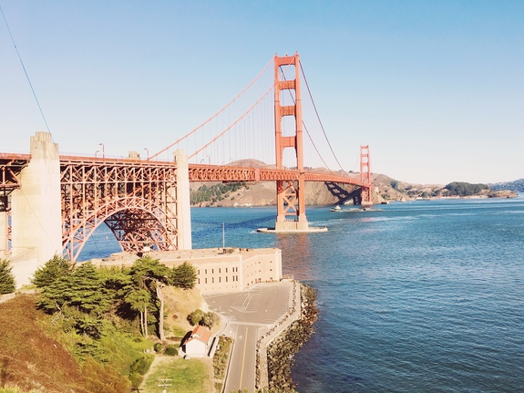 best views of the golden gate bridge battery east
