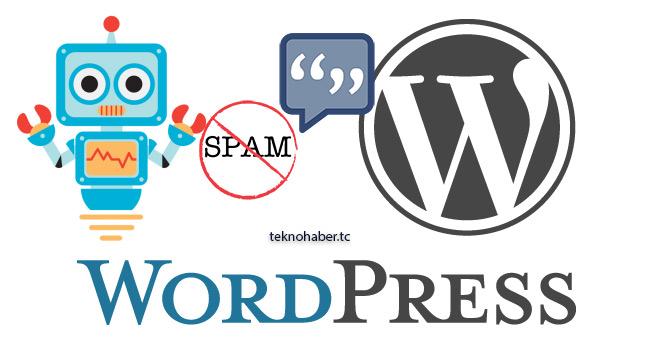 Spam Yorumlara Anti Spam ile Son