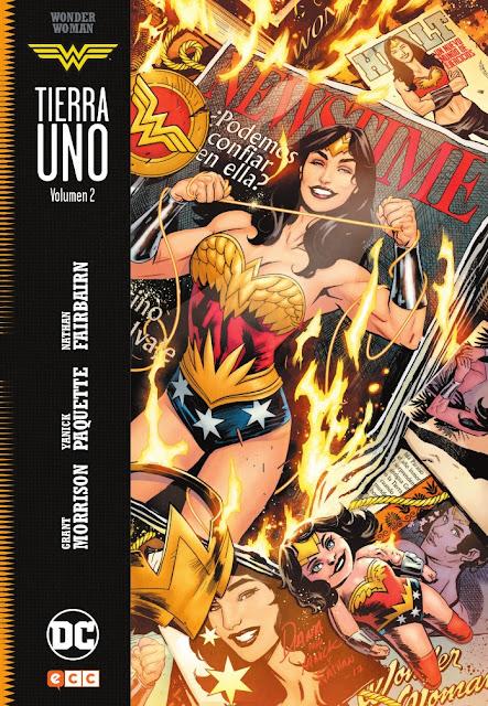 """Reseña de """"Wonder Woman: Tierra Uno"""" vol. 2 de Grant Morrison y Yanick Paquette - ECC Ediciones"""