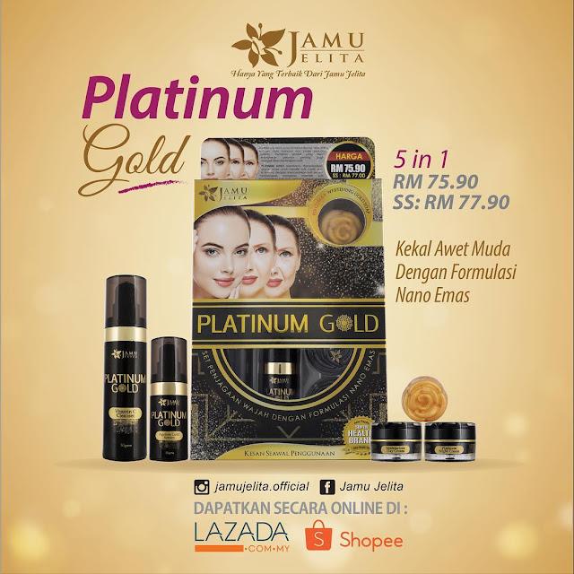Platinum Gold Set Jamu Jelita