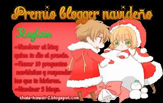 Premio || Blogger Navideño