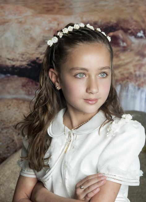 Bonito y sencillo peinados comunion niña Colección De Cortes De Pelo Tutoriales - peinados comunion on Pinterest | Vestidos, Flower Girls ...