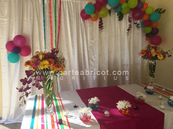Connu Carte Abricot Wedding Planner à l'Ile Maurice XA81