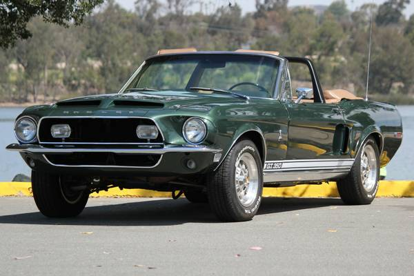 Fully Restored, 1968 Shelby Mustang GT 350 Convertible