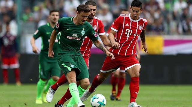 Video Bayern Munich - Bremen: Siêu sao tung hứng, rượt đuổi nghẹt thở