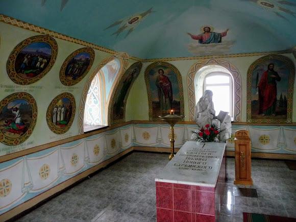 Белгород-Днестровский. Часовня св. Иоаана Сучавского на территрии Греческой церкви