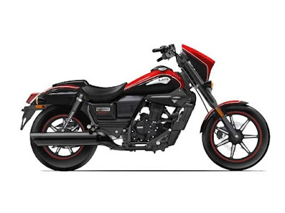 2016 UM Renegade Sport S side view Red