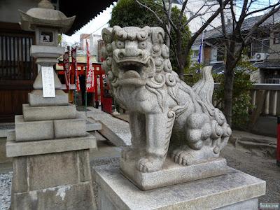 塚本神社狛犬